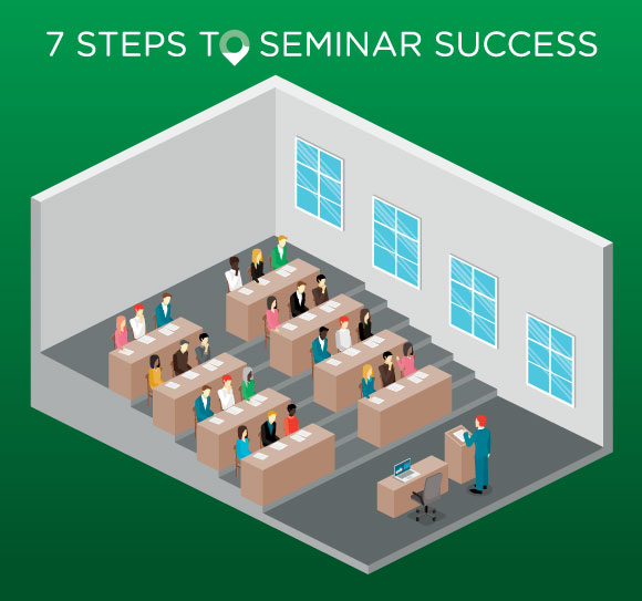 Seven Steps to a Successful Financial Seminar